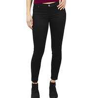 Girls Low Rise Ankle Jeggings - Black