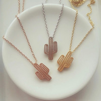 Must Have Cactus Necklace
