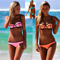 Brazilian Low Cut Triangle Women Bikini