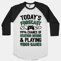 Today's Forecast: 99% Chance Of Staying Inside & Playing Video Games