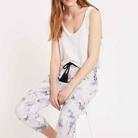 Little White Lies Tie-Dye Trousers in Grey - Urban Outfitters