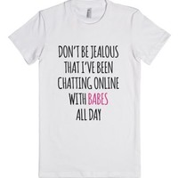 Napoleon Dynamite - Chatting with Babes-Female White T-Shirt