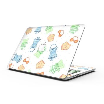 The Colorful Bathing Suit Pattern - MacBook Pro with Retina Display Full-Coverage Skin Kit