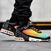Nike air max plus 3 tn sneaders sports shoes line shoes small hook Colorful rainbow