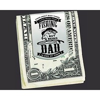 Fishing Dad Money Clip | Gift for Dad