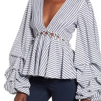 L'Academie Far From Home Blouse | Nordstrom