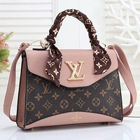 LV Louis Vuitton Woman Men Fashion Leather Handbag Crossbody Satchel