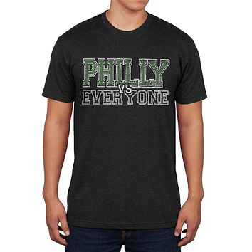 Philly VS Everyone Vintage Distressed Mens Soft T Shirt