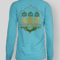 TRES PINEAPPLES - T-Shirts - Tops - Womens