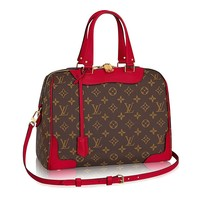 Authentic Louis Vuitton Monogram Canvas Retiro NM Tote Handbag Article:M40546 Cherry Made in France