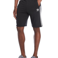 Black French Terry Essential Shorts