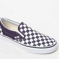 Vans Women's Checkerboard Slip-On Sneakers at PacSun.com