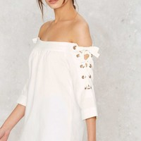 Bare All Off-the-Shoulder Top