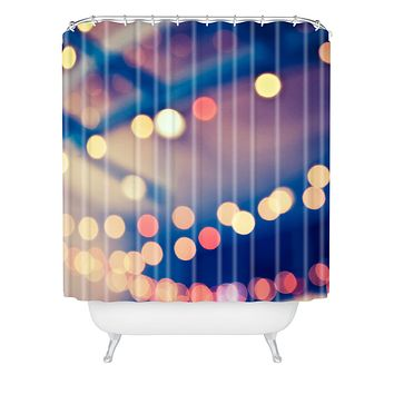 Shannon Clark Pretty Lights Shower Curtain