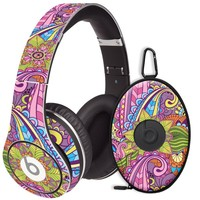 Kaleidoscope Decal Skin for Beats Studio Headphones & Carrying Case by Dr. Dre