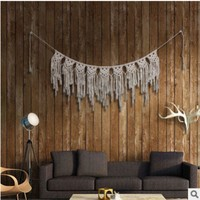 VONERE1 Pure hand-woven l-curtain tapestries home pendants Bohemian wedding decorative wall hangings decoration