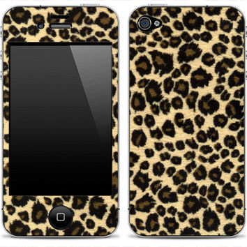Leopard Print Skin for the iPhone 3g, 4/4s or 5