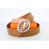 Hermes belt men's and women's casual casual style H letter fashion belt24