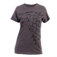 Game of Thrones Distressed Stark Sigil Women's T-Shirt