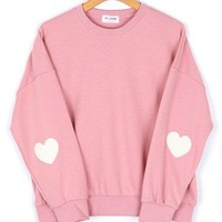 Pink Heart Sweater