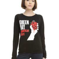 Green Day American Idiot Girls Long-Sleeved T-Shirt
