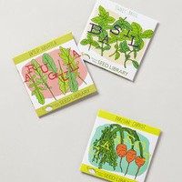 Summer Salad Seed Kit by Anthropologie Multi Set Of 3 House & Home