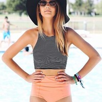 Swimsuit Sexy Hot Summer New Arrival Beach Swimwear High Waist Bikini [9891805194]