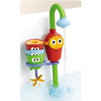 Baby Bath Toy - Flow N Fill Spout - Three Stackable Cups And Automated Spout by Yookidoo