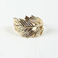 Leaf Curve Ring