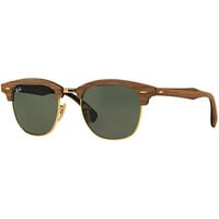 Ray-Ban Sunglasses, RB3016M CLUBMASTER WOOD