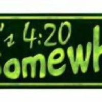 It's 4:20 Somewhere Weed Arrow Street Sign