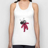 Little Pink Bear said :: Happy New Year 2015 :) '' Unisex Tank Top by LilaVert
