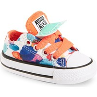 Converse Chuck Taylor® All Star® Double Tongue Low Top Sneaker (Baby, Walker & Toddler)   Nordstrom