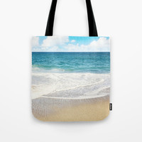 beach vibes Tote Bag by sylviacookphotography