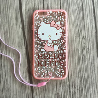 Cute Hello Kitty Pink Case for iPhone