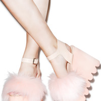 Current Mood Candy Cloud Sandals Pink
