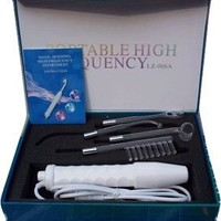 Project E Beauty D'arsonval High frequency direct for Home Use - skin tightening, Wrinkles, Fine lines, Puffy Eyes Device