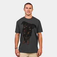 Sunny (rottweiler Mix) T Shirt By Binarygod Design By Humans