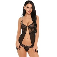 Lace Lingerie with G-String