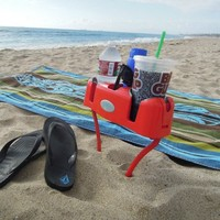 Floatsy Legs for Cupsy Drink Beverage Organizer with Personal Item Storage