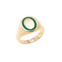 Jessica Biales candy signet ring