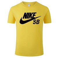 Nike sports and leisure breathable short sleeve men and women round neck top