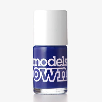 Models Own True Blue Nail Polish