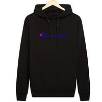 Champion new hooded autumn and winter men's sweater Black