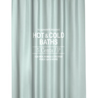 H&M Shower Curtain $19.99