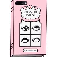 Eye Rolling Forever 3D iPhone 7+ Case