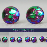 Maleficent Color Shifting Stud Earrings