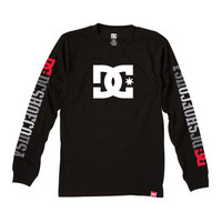 Mens Rob Dyrdek USA Long Sleeve T-Shirt - DC Shoes