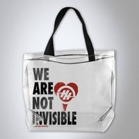 Hunter Hayes - We Are Not Invisible Tote Bag
