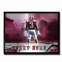 Alabama Crimson Tide Sweet Home Poster | Alabama Crimson Tide Poster | BAMA Poster